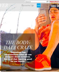 body-data craze